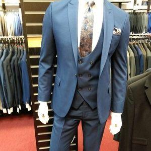 2 Turkish Ultra Slim Fit Suits
